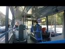 Разгон электробуса КАМАЗ 6282 в первый день работы в Ростове