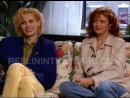 Geena Davis and Susan Sarandon - Interview (Thelma  Louise) 1991 [Reelin In The Years Archives]