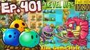 Plants vs. Zombies 2 | Deep Sea Gargantuar | Plants Level Up - Big Wave Beach Day 14 (Ep.401)