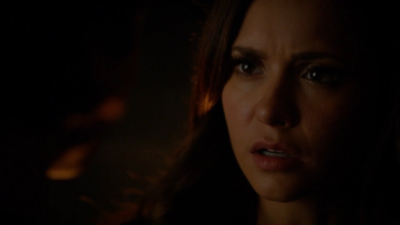 The Vampire Diaries: 8x08 - Damon kills Elena's replacement and throws away Elena's necklace [HD]