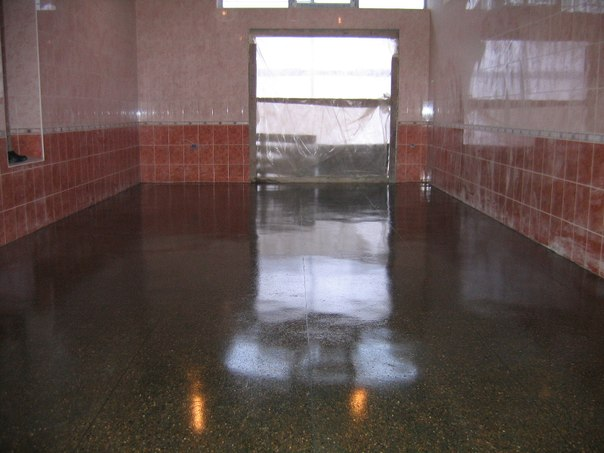 промышленные бетонные полы технология видео
