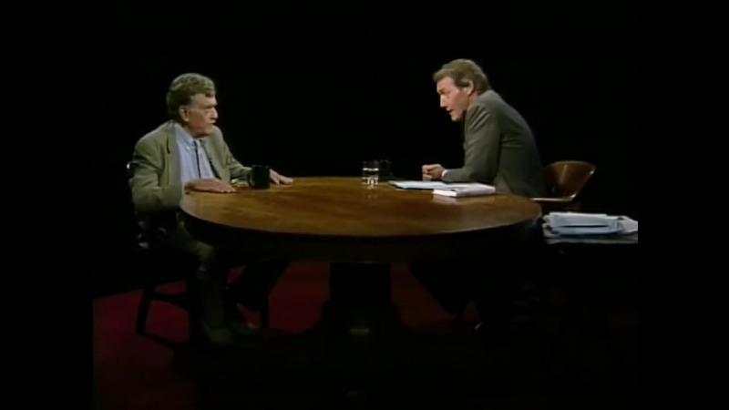 Интервью К.Воннегута Чарльзу Руасу презентуя книгу Табакерка из Богамбо.