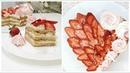 Торт сердце к 14 февраля Крем дипломат медовые коржи