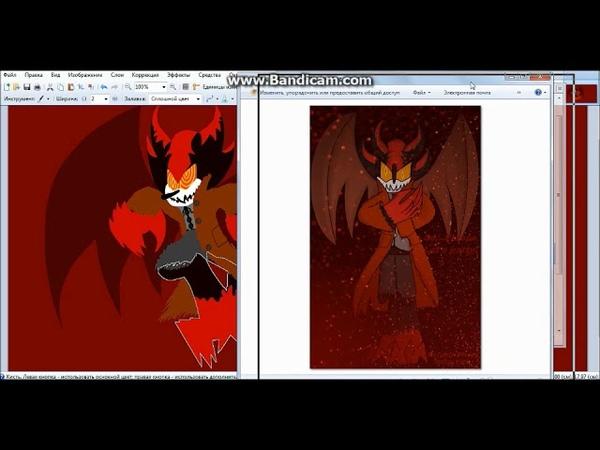 SP Nex the hedgehog Demon of blood