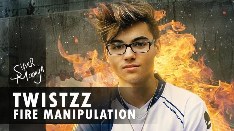 Fire manipulation with Twistzz   Photoshop Speed Art
