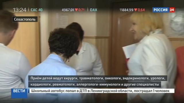 Новости на Россия 24 • Врачи детской Морозовской больницы помогают коллегам из Севастополя