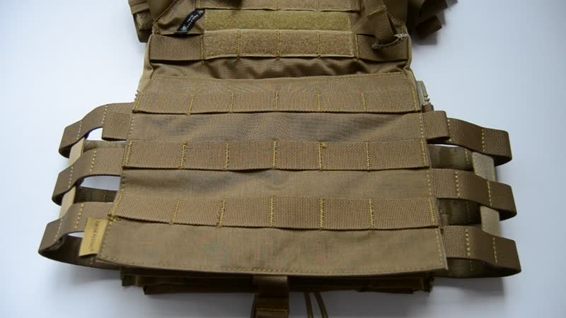 How to connect the Chassis MK3 Chest Rig Main Body Pouch to JPC 2.0