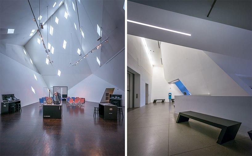 Pygmalion Karatzas shares photos of the contemporary jewish museum in San Francisco