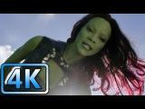 Star-Lord vs Gamora  First Meeting  Guardians of the Galaxy (2014)  4K ULTRA HD