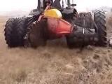 Необычная техника для добычи торфа