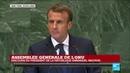 REPLAY Discours d'Emmanuel Macron à l'Assemblée générale de l ONU