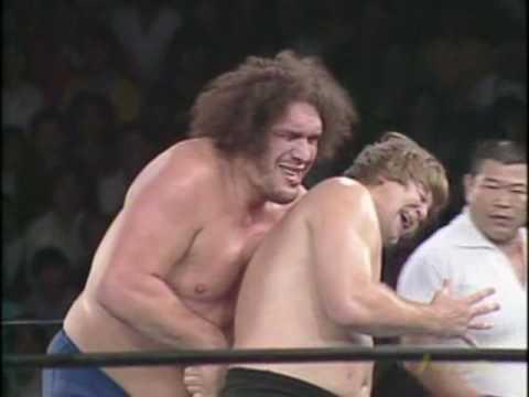 NJPW Stan Hansen vs. Andre The Giant 1of2