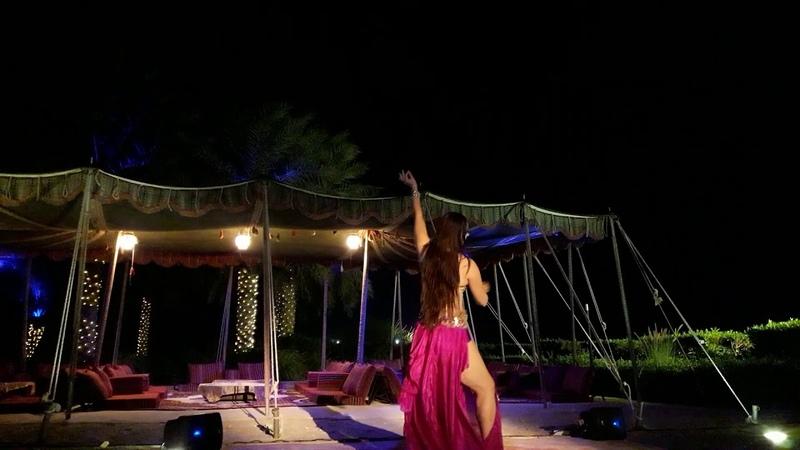Mejanse UAE Aziza belly dancer
