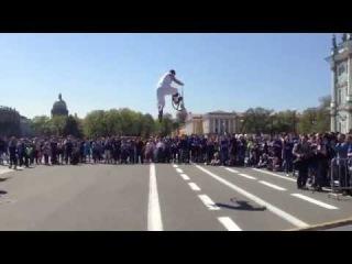 Открытие пробега роллеров 17 мая 2014 на дворцовой!!!!!