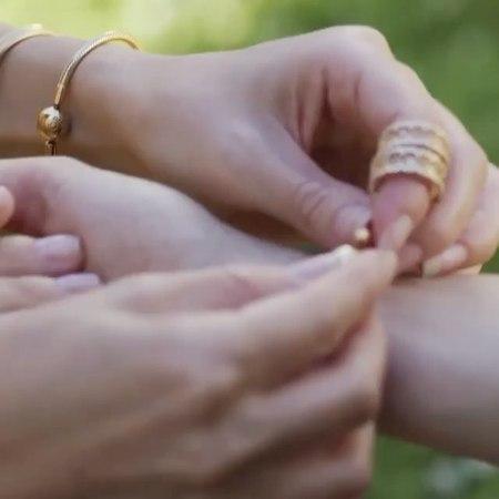 Pandora Shine 🐝 это украшения из стерлингового серебра покрытого золотом 750 пробы👑
