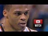 Russell Westbrook Full Highlights vs Clippers (2015.02.08) - 19 Pts, 11 Reb, 5 Ast in 3 Qtrs!