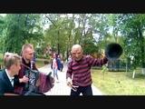 Фредди Крюгер и гармонист Александр Тюхов Танцы под гармонь