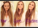 Long Hair Care Routine! My Fav Products, & How I Blow Dry & Straighten My Hair with NuMe Tools