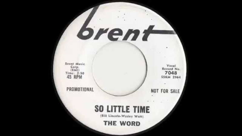 The word -the war babies - euphoria BRENT RECORDS- so little time / now it's over
