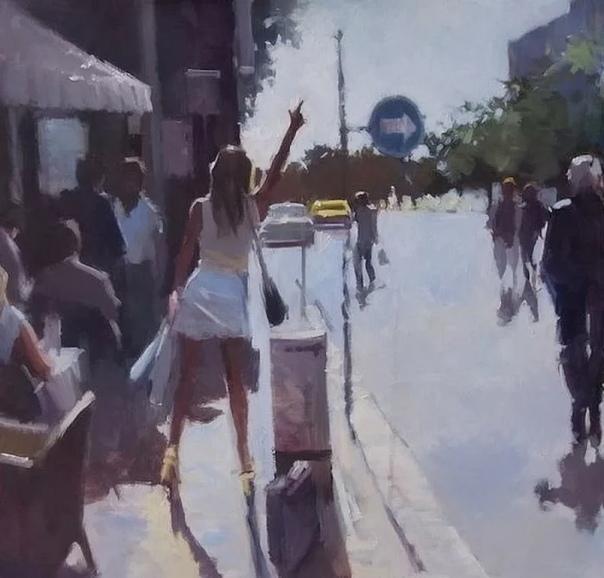 Известный британский художник Дэвид Фаррант (David Farrant преподнес зрителю серию работ, в которых он хотел показать свое восприятие мира. Оно необычное. Оно выглядит как-то размыто и больше
