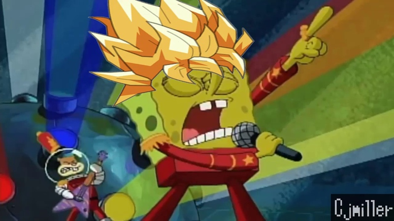 Bob Esponja Canta el Opening 2 de Dragon Ball Super