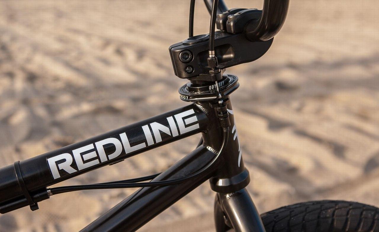 redline bmx frame