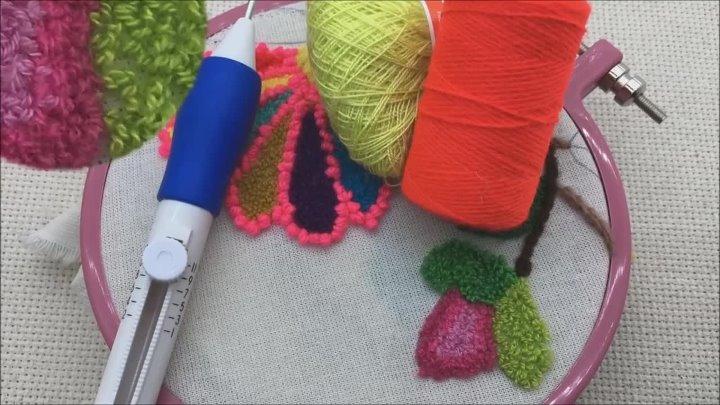 обзор набора для ковровой вышивки