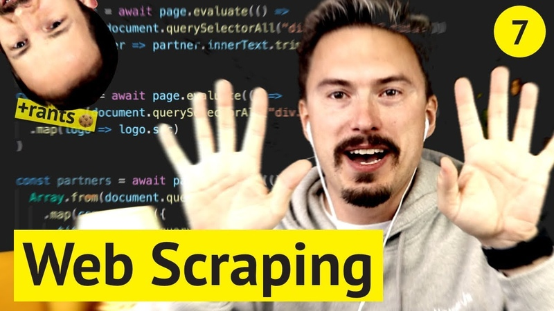 Web Scraping with Node.js Puppeteer (🌋 rants included, no extra charge)
