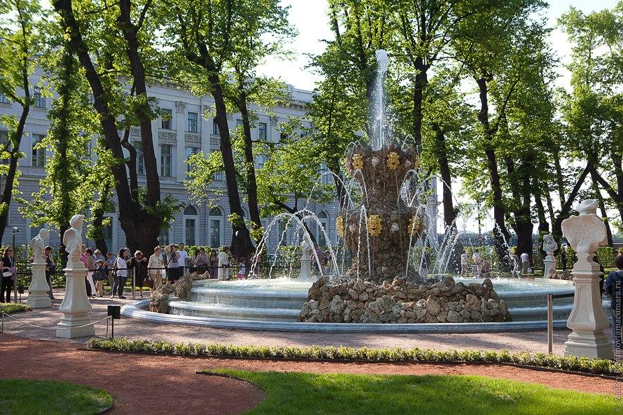 Летний сад Санкт-Петербург