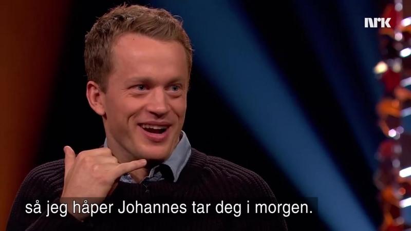 анонс передачи Lindmo на NRK, 30.09.2017