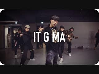 1Million dance studio It G Ma - Keith Ape / Koosung Jung Choreography