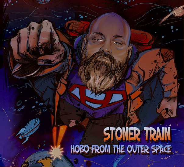 Новый альбом STONER TRAIN - Hobo From The Outer Space (2012)