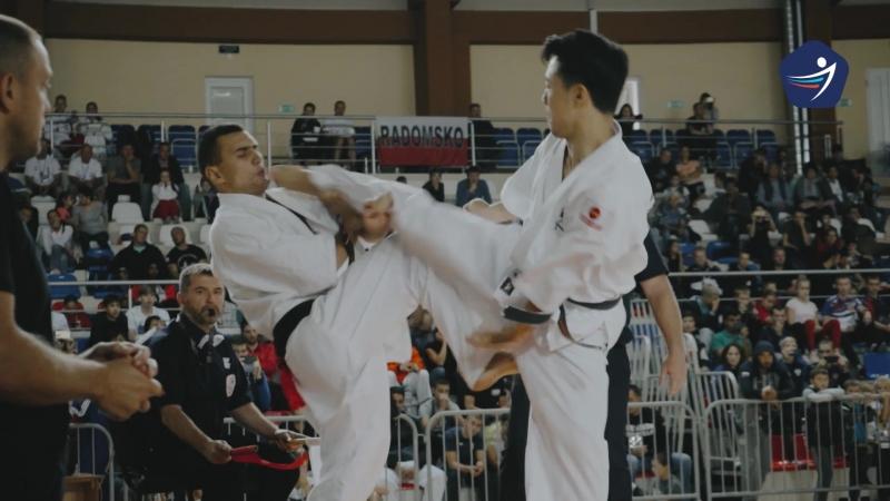 32 ND Europian Kyokushin championship 21-22 september МСЗ Созвездие