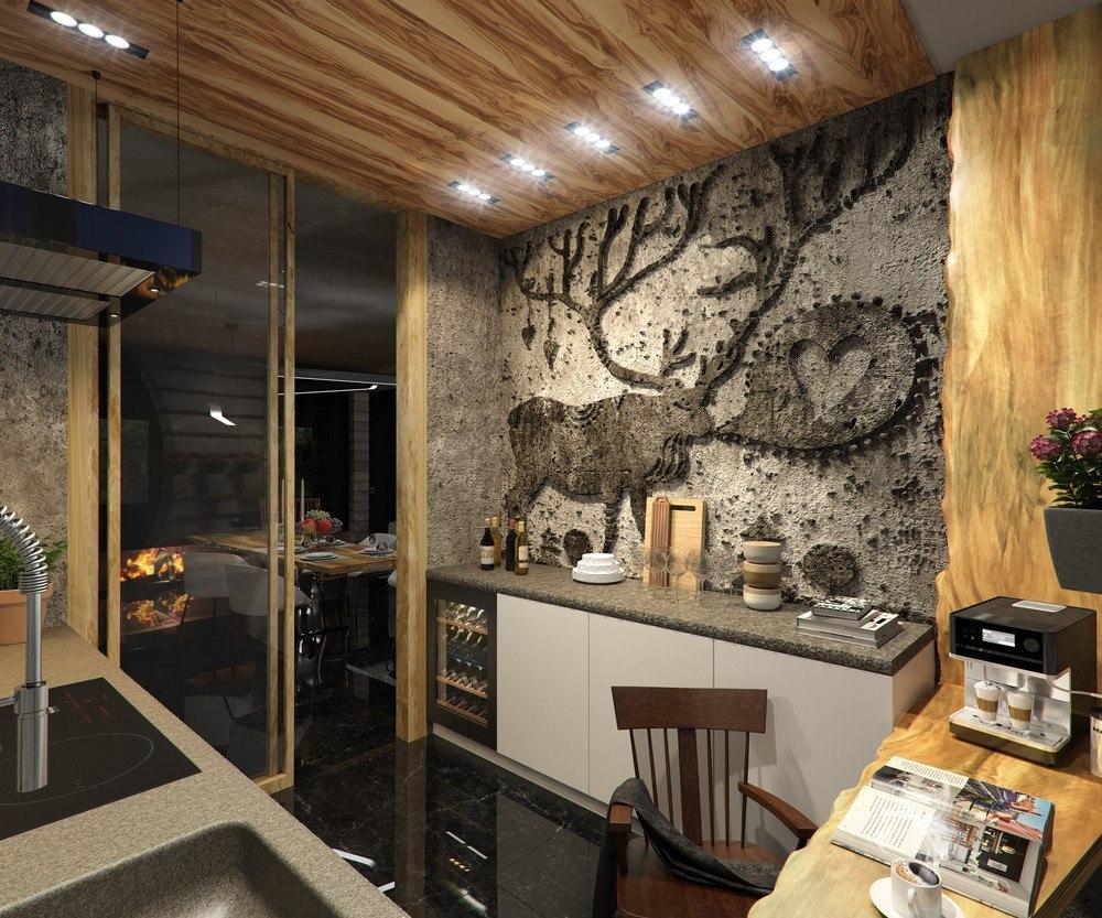Кухня-кабинет