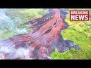 Hawaiis Volcano Eruptions Intensify as Fissures Merge to Form Massive Lava River