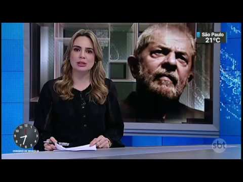 SBT Brasil mostra apoio a Lula por Comissão União Europeia Mercosul que condena a prisão