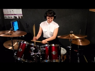 My Chemical Romance - House of wolves (drumcover by Polina)