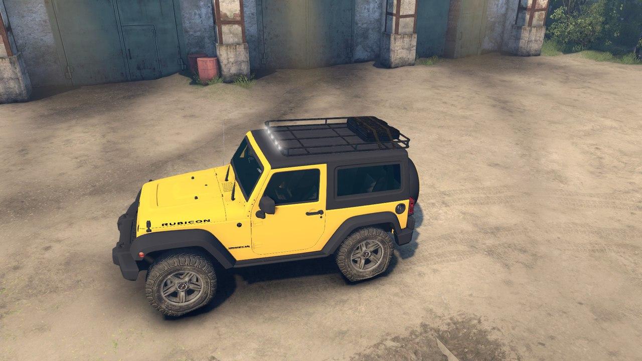 Jeep Rubicon для версии игры от 13.04.15 для Spintires - Скриншот 1