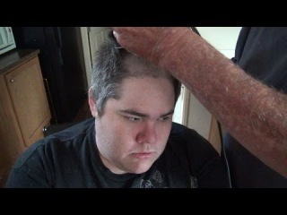 GRANDPA GIVES PICKLEBOY A HAIRCUT!