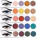 Как подобрать цвет теней для глаз