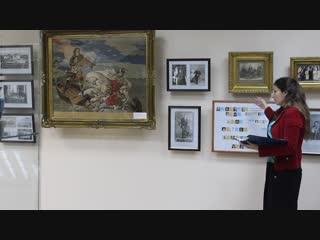 Открытие выставки библиотеки профкома в ноябре