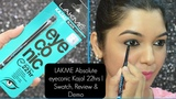 LAKME eyeconic Kajal 22 hrs Swatch, Review &amp Demo