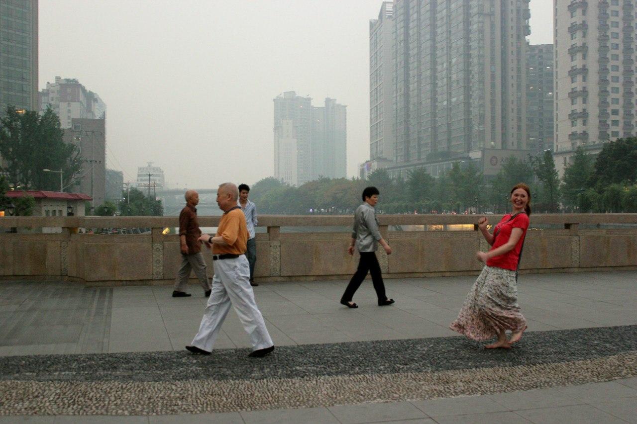 Город Чэнду Китай