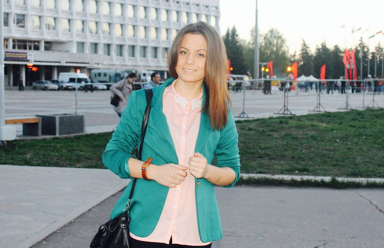 Претендент на титул «Татар кызы — 2015 Ульяновск» Румиля Мустафина