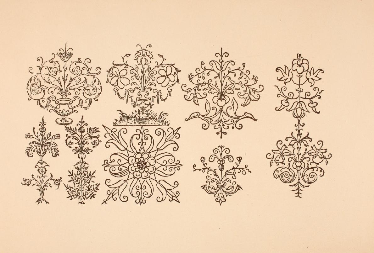 Схемы узоров для вышивки бисером на одежде 5 фотография