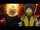 Скорпион против Призрачного Гонщика Лего Рэп Битва 3 Сезон