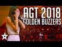 All Golden Buzzers Auditions on America's Got Talent 2018 | Got Talent Global