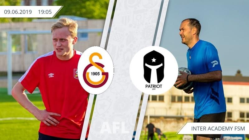 2019 AFL8x8 (8 round) Galatasaray 13 Patriot