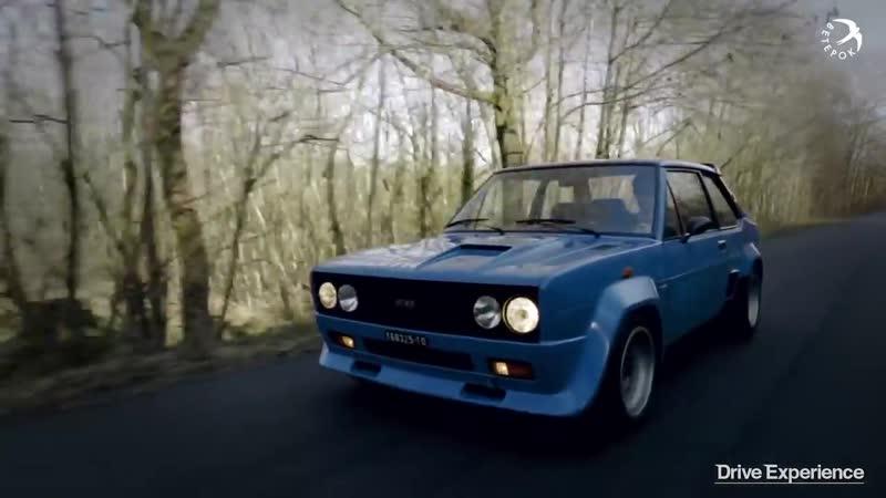 Fiat 131 Abarth Rally - Драйверские опыты Давида Чирони