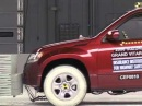 2008 Suzuki Grand Vitara moderate overlap crash test - Сузуки Гранд Витара краш тест 2008